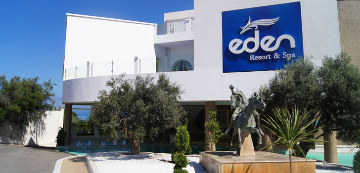 L'hôtel Eden Resort & Spa à Oran