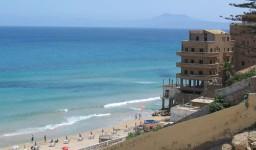 La plage de Bouisseville à Aïn El Turk