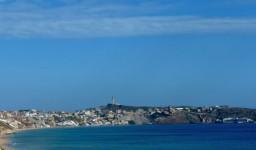 La plage de Cap Falcon à Aïn El Turk