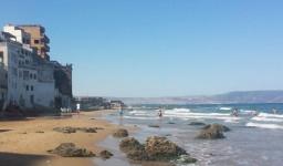 La plage de Coralès à Bousfer