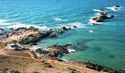 La plage du Pain de Sucre à Aïn El Turk