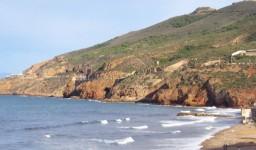 La plage de Saint-Roch à Aïn El Turk